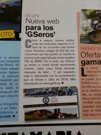 publicacion revista En Moto
